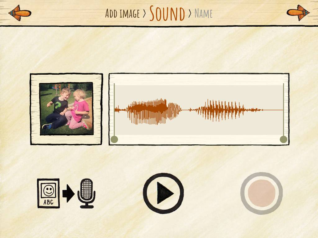 Record custom sounds for your kids.