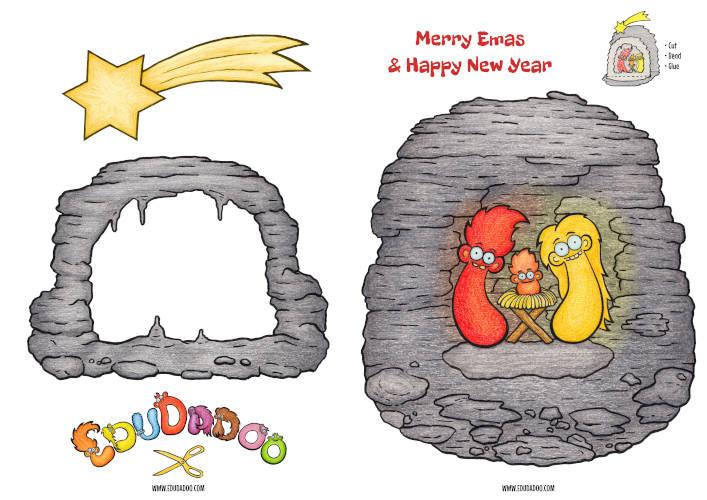 Create your own Edzee nativity scene!